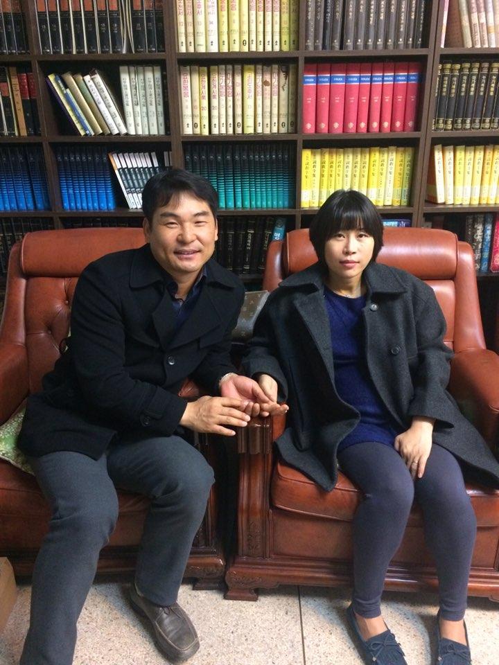 박종민성도님 김정선성도님