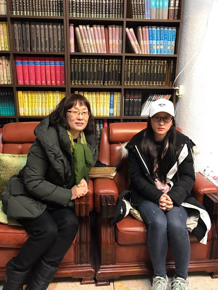 홍성미 집사님 강민수 자매님